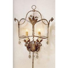Currey & Company Corsica Wall Sconce CC-5032