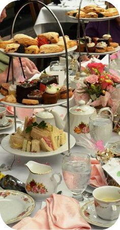 Party Ideas: Bridal Luncheons, Ladies Events - High Tea Events at Park Plaza Gardens