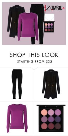 """""""AU for iZombie Outfit- Liv Moore"""" by cg18 on Polyvore featuring STELLA McCARTNEY, Kitx, Equipment, MAC Cosmetics and Cartier"""