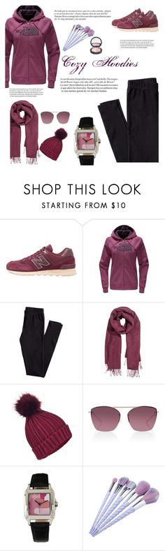 """Untitled #36"" by esoso ❤ liked on Polyvore featuring New Balance, The North Face, H&M, Whiteley, Miss Selfridge, Oliver Peoples and Brush Strokes"