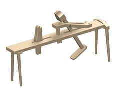 Shaving horse plan free download if you are a traditional woodworker you will want one of these