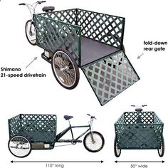 Main Street Pedicabs | The Pedal Pickup - Schematic Features