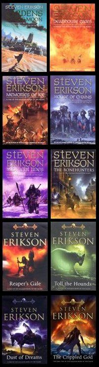May have pinned this before. I really don't care. The greatest book series of all time. #Malazan