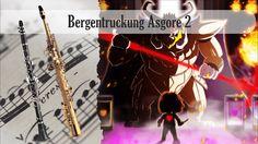 Partitura Bergentruckung Asgore Duo Clarinete soprano y Saxofón Soprano