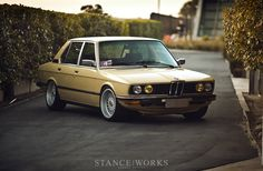 A Bavarian Hot Rod - Ron Perry's 1979 3.9-Liter M30-Powered BMW E12 - Stance Works