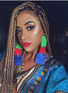 Got those lovely box braids installed? That's great because now you just need these Unique Box Braids Hairstyles to Make You Look Super. Jumbo Box Braids, Bob Box Braids, Medium Box Braids, Blonde Box Braids, Short Box Braids, Long Braids, Medium Hair, Box Braids Hairstyles, Braided Crown Hairstyles