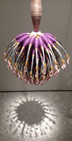 Joel S. Allen, Hooked on Svelte Textile Fiber Art, Textile Artists, Artistic Installation, Passementerie, Soft Sculpture, Wire Art, Fabric Art, State Art, Tassels