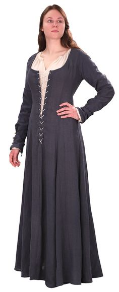 Maid Marion Costume from Robin Hood Movie  Maid Marian Blue Dress and