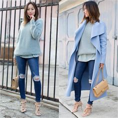 NEW #OUTFIT BY @songofstyle #aimeesong #songofstyle #howtochic #ootd #outfit