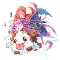 Lulu, Poro _ League of legend