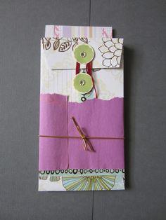 Cute Handmade Stationary Set by kayokohokusai on Etsy, $6.00