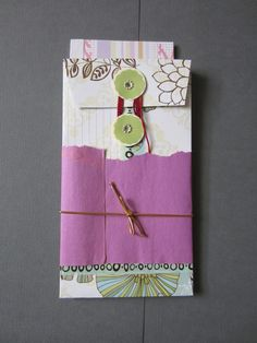 Cute Handmade Stationary Set by kayokohokusai on Etsy, $6.00