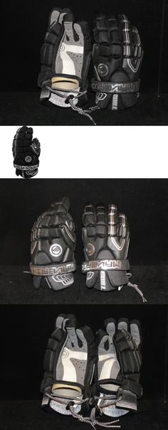 Protective Gear 62164: Maverik Chill Lacrosse Gloves Black 12 New With Tags -> BUY IT NOW ONLY: $49.95 on eBay!