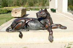 #bronce #escultura #leona #bronze #sculpture #lioness