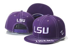 NCAA Zephyr LSU Tigers Snapback Hats|only US$8.90 - follow me to pick up couopons.