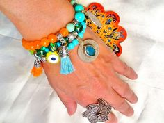SALEGYPSY SOULE bracelet  bohemian bracelet belly dance by Nezihe1