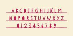 PaperCute - Webfont & Desktop font « MyFonts ♥ Loved by www.miekinvorm.nl || illustration + design