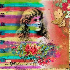 Magnificent Mayhem by Julie Mead and Coppercurls Designs - Digishoptalk - The Hub of the Digital Scrapbooking Community