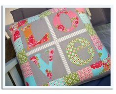 Sweet idea, love these color choices.  marmaladelove02crop by Sandy Murphy Design, via Flickr.