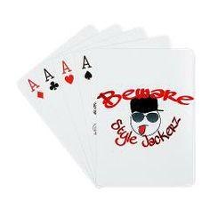 Style Jackerz Palying Cards $22.49