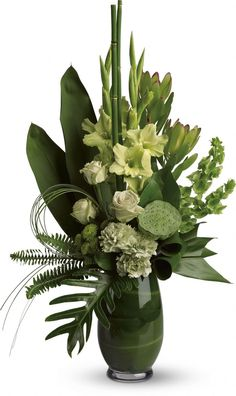 Beautiful contemporary floral arrangement