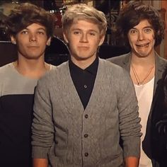 Very attractive, Harry. :) hahahahahahahah (Sad part is, he really is still attractive!)