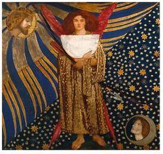 "Dante Gabriel Rossetti - ""Dantis Amor"" 1860"