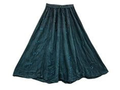 Maxi Skirt Black Sequin Embroidered Stonewashed Rayon Boho Skirts Mogul Interior,http://www.amazon.com/dp/B00IL3K74C/ref=cm_sw_r_pi_dp_C6hdtb057P6W15DB