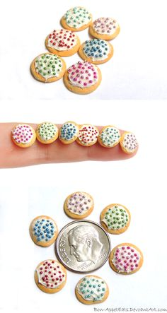 Mini Frosted Sugar Cookies by ~Bon-AppetEats on deviantART