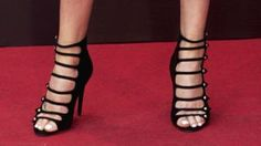 Columbia ends high heel dress code requirements - BBC News: BBC News British Columbia ends high heel dress code requirements BBC… Charlize Theron Oscars, Charlize Theron Photos, Nike Outfits, Sport Outfits, Celebrity Gist, Caged Heels, Sport Body, Sport Chic, Running Training