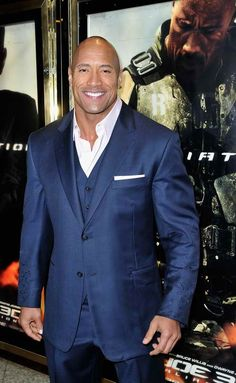 Dwayne Johnson attends the UK premiere of G.I. Joe: Retaliation at The Empire Leicester Square on March 18, 2013 in London, England.  (Photo by Gareth Cattermole/Getty Images)