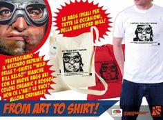 """Enrico Sordi: Festeggiamo il secondo reprint delle t-shirts """"Wil..."""