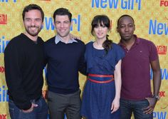 cast of new girl lookin fabulous