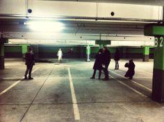 Warsztaty z Fotografii Mody - extremalna sesja zdjęciowa na podziemnym parkingu