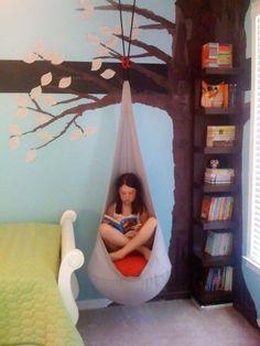 The gorgeous Ikea Ekorre hanging seat. http://amzn.to/2pY6cxn