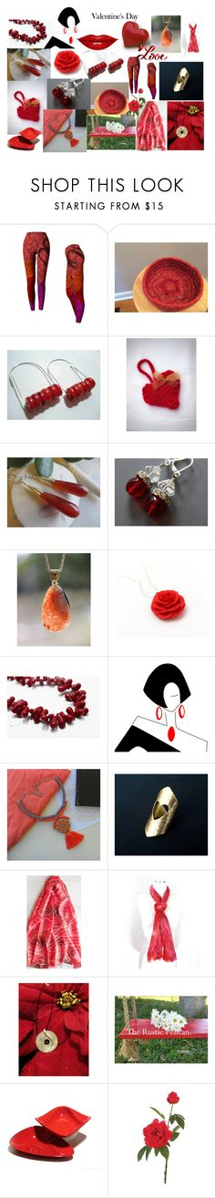 """Valentine's Day"" by anna-recycle ❤ liked on Polyvore featuring MCM, John Lewis, modern, rustic and vintage"