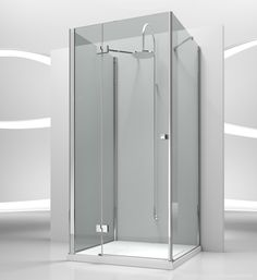 sa+sf+sg : sintesi shower enclosures models - pivot door   by @vismaravetro