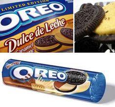 Dulce de Leche Oreo Cookies; Duo Dulce de Leche & Banana Oreo Cookies
