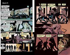 Batman - Year One ,1987. Frank Miller and David Mazzucchelli. Mazzucchelli is a genius.
