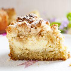 Low Carb Schmand-Streuselkuchen mit karamellisierten Äpfeln – Low Carb Köstlichkeiten
