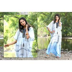 Silk kaftan Silk Kaftan, Two Piece Dress, Designer Collection, Kimono Top, Cover Up, Fancy, Wedding, Tops, Dresses