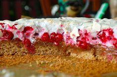 Ze zahrady do kuchyně:  Red currant cake http://zezahradydokuchyne.blogspot.cz/2013/07/rybizovy-kolac-se-snehem.html