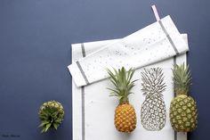 L'ananas : la tendance 2015 en déco aussi ! Avec ce torchon la cerise sur le gateau #lacerisesurlegateau