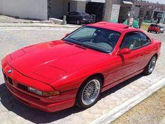BMW 850Ci red