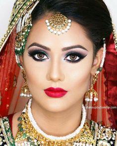 #barbieindianbridemakeup