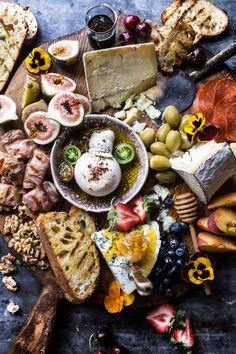 Simple Summer Cheese Board | halfbakedharvest.com @hbharvest