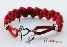 Oral Cancer Multiple Myeloma Brain Aneurysm Red Burgundy Ribbon Awareness 550 Paracord Charm Bracelet