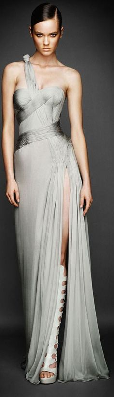 Atelier Versace of course - only the best for Mr Grey & I