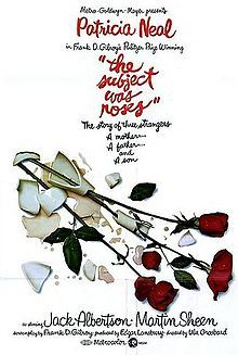 The Subject Was Roses Poster, 1968