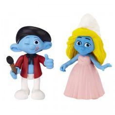 The Smurfs Painter Smurf & Smurfette